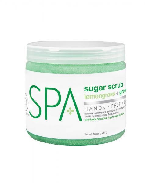 Sugar Scrub Lemongrass + Green Tea